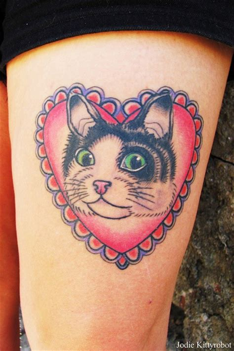 tattoo cat heart 240 best images about cats and kittens on pinterest