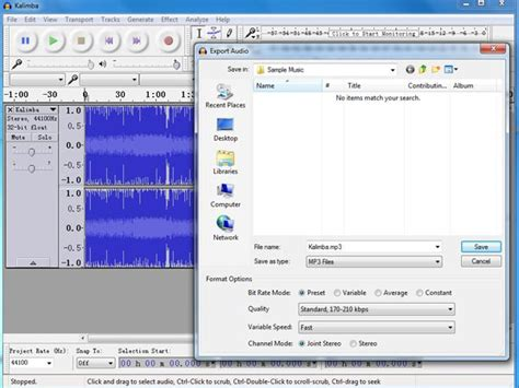 download lame mp3 converter for audacity audacity lame