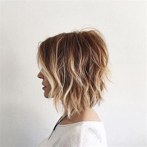back view of texturized lob 8 stunning short hairstyles with texture