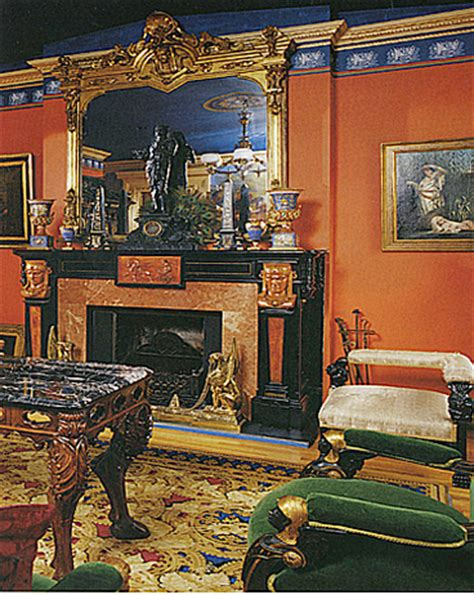 egyptian revival antique room