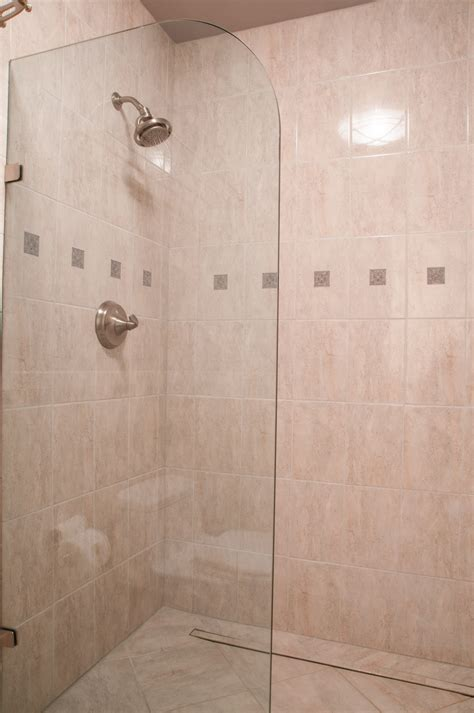 doorless shower designs for small bathrooms fresh best doorless walk in shower designs for small 18119