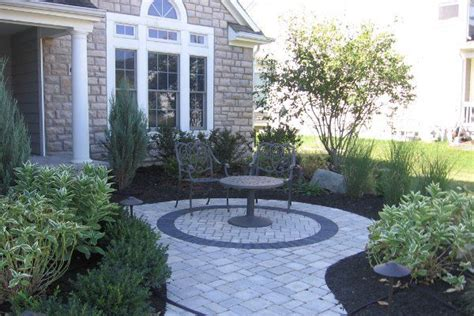 front walk paver ideas patios and walkways landscaping pinterest front yards walkways