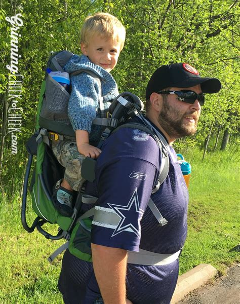 comfort the children hiking with deuter kid comfort review