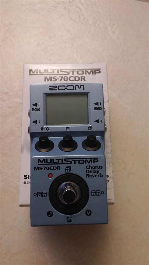 Zoom Multistomp zoom multistomp ms 70cdr image 999474 audiofanzine