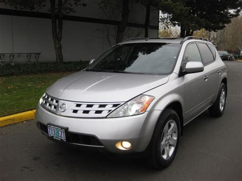Nissan Murano Moonroof by 2003 Nissan Murano Se Awd Leather Moonroof