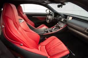 Lexus Rc F Interior 2015 Lexus Rc F Front Interior Seats Photo 30