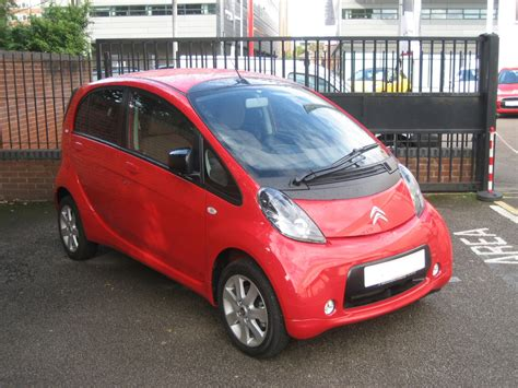 citroen electric citroen c zero electric car photo front autos