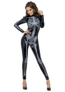 Skeleton Costumes Women S X Ray Skeleton Jumpsuit