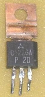 Transistor 2sa952 g 252 nther stabe collection stabe germany 2sa683 common