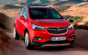 Opel Moca 2016 Opel Mokka X Previews Upcoming Buick Encore Refresh