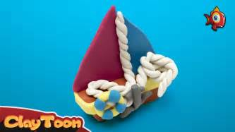 how to make a boat out of clay boat polymer clay tutorial youtube