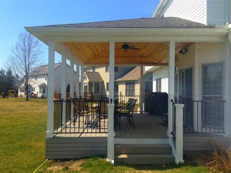 Covered Porch Ideas Cleveland Landscape Lighting Ideas For Decks
