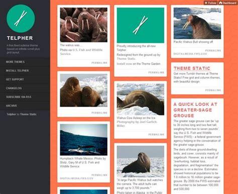 themes tumblr free 2014 50 best free tumblr themes
