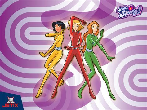 totally spies totally spies totally spies wallpaper 6783574 fanpop