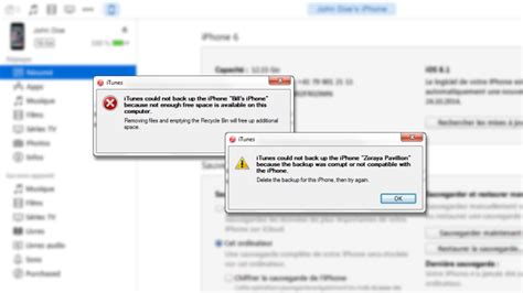 iphone backup in itunes failed with an error message here s how to fix copytrans