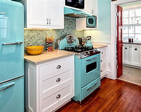 retro painted appliances