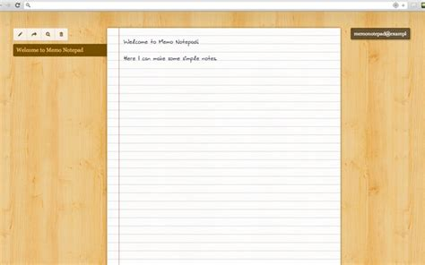 chrome notepad memo notepad chrome web store