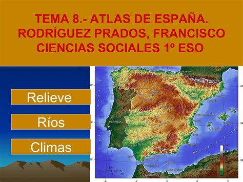 atlas de espana y 8430559906 calam 233 o tema 8 atlas de espa 209 a 1
