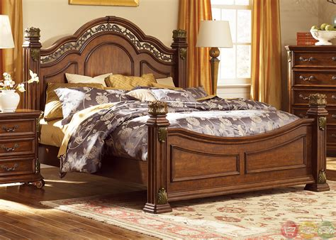 poster bedroom set messina estates traditional european style poster bedroom set