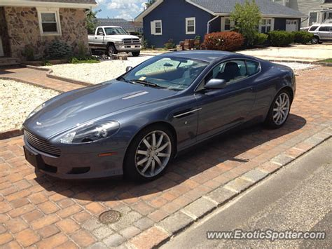 Aston Martin New Jersey by Aston Martin Db9 Spotted In New Jersey On 07 25 2013