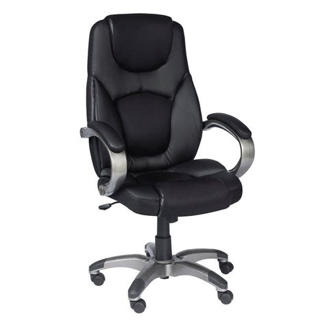 Manager Chair Design Ideas Z Line Designs Black Leather Executive Office Chair Zl5001 01ecu The Home Depot