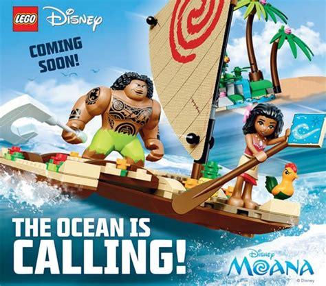 Vs Moana Set 41150 moana vaiana on the high seas encore un visuel hoth bricks