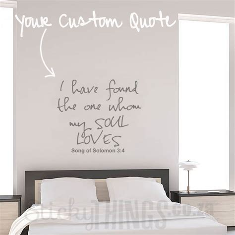 customized wall stickers custom wall sticker quote custom quote decal