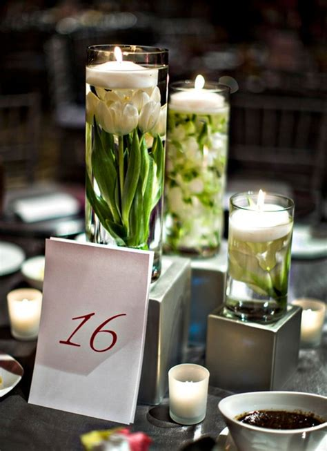 centerpieces with candles 37 floating flowers and candles centerpieces shelterness