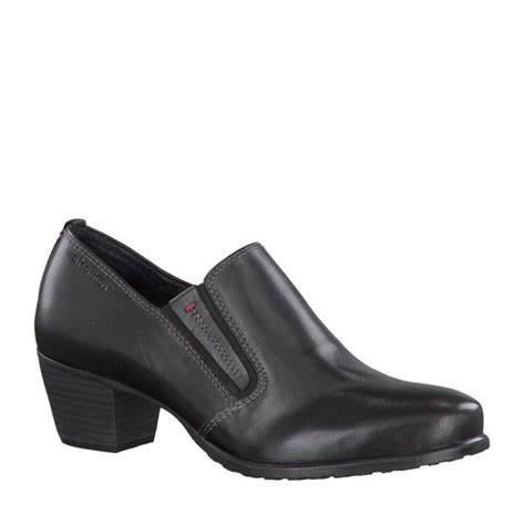 24313 21 black leather trouser shoe
