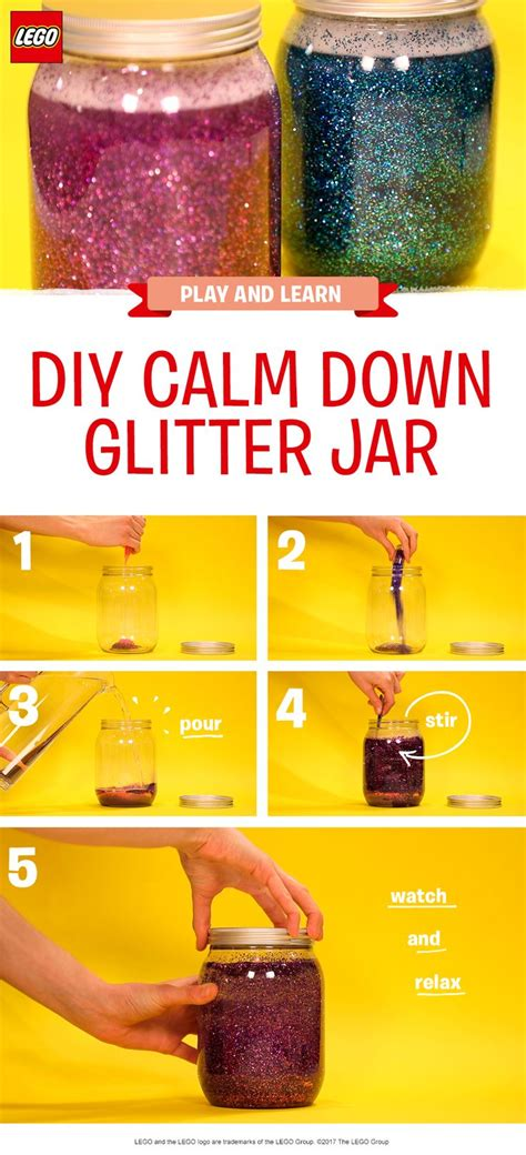 colors that calm you down 25 best ideas about glitter calming jar on pinterest