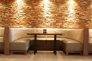 banquette seating commercial renovations contract