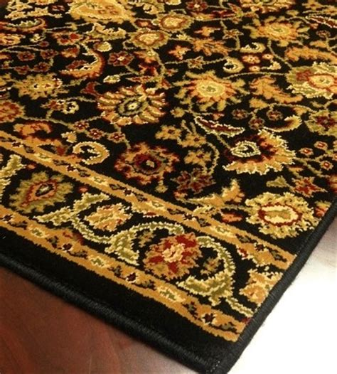 18 runner rug wo02 black carpet hallway and stair runner 26 quot x 18 ft