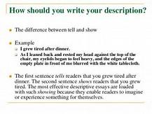 how to write a good descriptive essay  image result for how to write a good descriptive essay