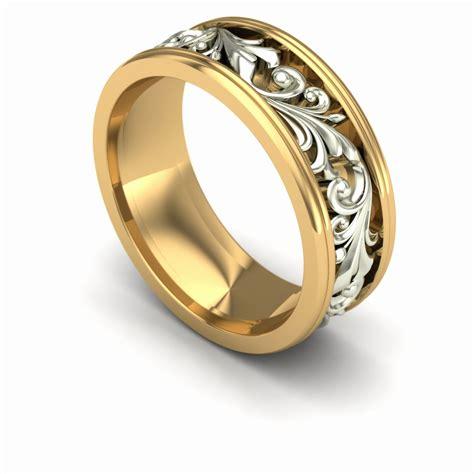 Custom Bahan Kulit Coklat Ring Gold 39 lovely mens ruby wedding band wedding idea