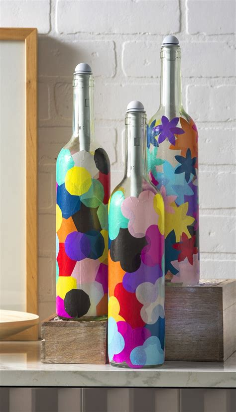 wine bottle crafts wine bottle crafts light my bottles mod podge rocks