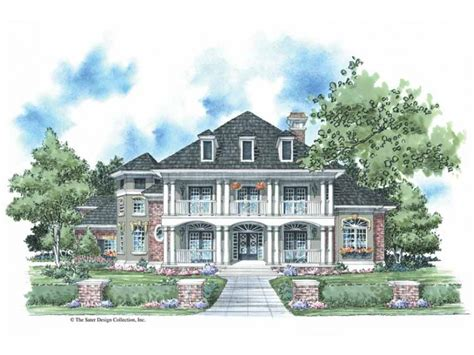 Antebellum House Plans by Eplans Plantation House Plan Classic Plantation Style