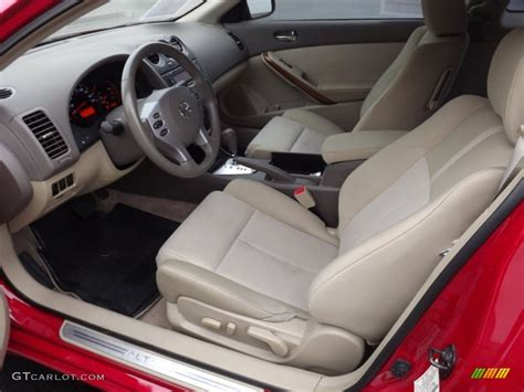 2008 Nissan Altima 2 5 S Interior by Blond Interior 2008 Nissan Altima 2 5 S Coupe Photo