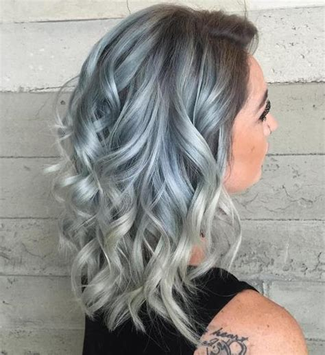 silver blue color pastel hair guide 40 shades of pastel hair color