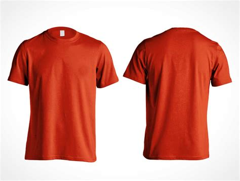 t shirt template psd front and back tshirt 4 6 psd mockups