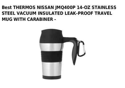 nissan travel mug thermos nissan jmq400 p 14 oz stainless steel vacuum