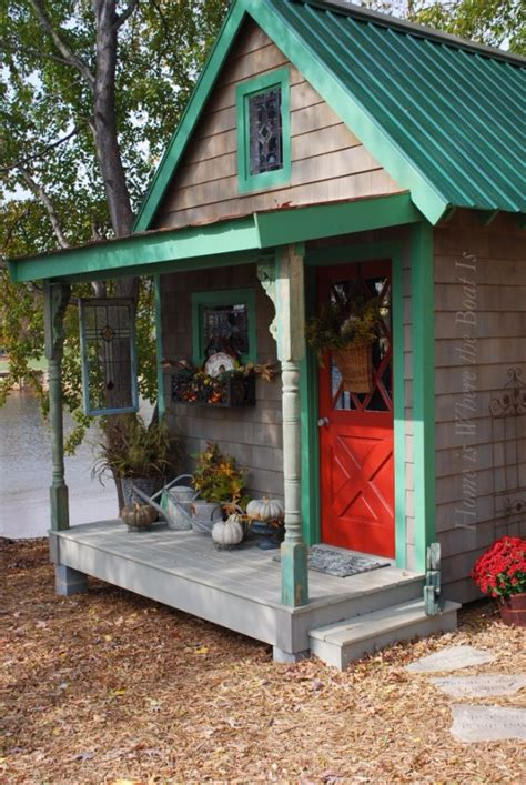 cool backyard sheds 31 diy storage sheds and plans to make this weekend diy joy