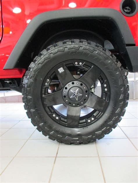 Rockstar Jeep Rims Firecracker Jeep Wrangler Unlimited Sport 4x4 With 37
