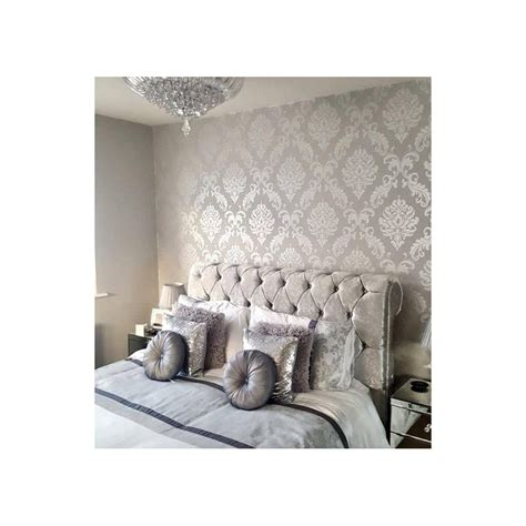 damask wallpaper bedroom photos and video damask wallpaper bedroom bedroom makeover ideas