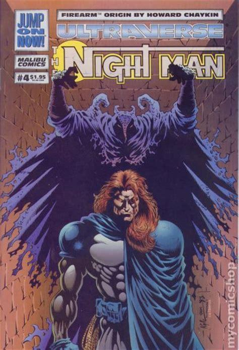 night man 1993 malibu comic books
