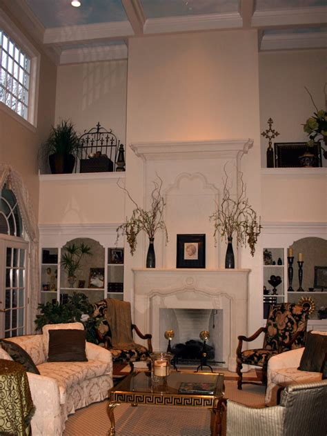 two story fireplace two story stone fireplace