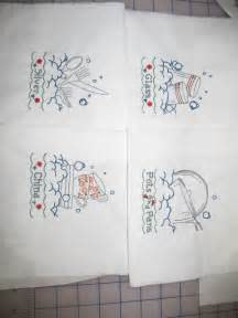 machine embroidery designs for kitchen towels home embroidery designs home and landscaping design