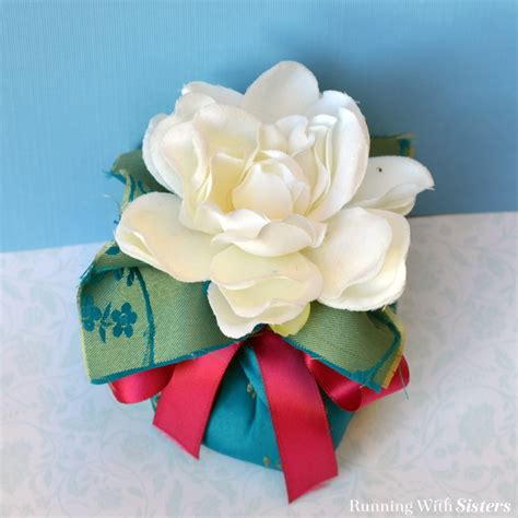 Find Silky Smooth Floral Scented by How To Make A Gifty Flower Sachet Running With