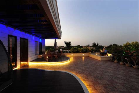 Led Patio Lighting Ideas Patio Lighting Ideas And Light Up Palm Trees Lights Etc