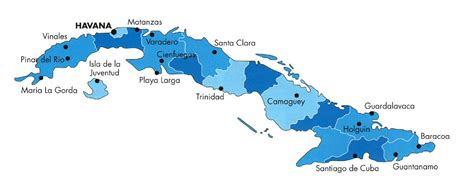 cuba on map of world cuba political map showing the cities travel around the