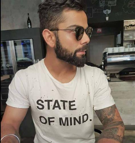virat latest beard style imagea 2017 virat kohli new beard style photos images pictures